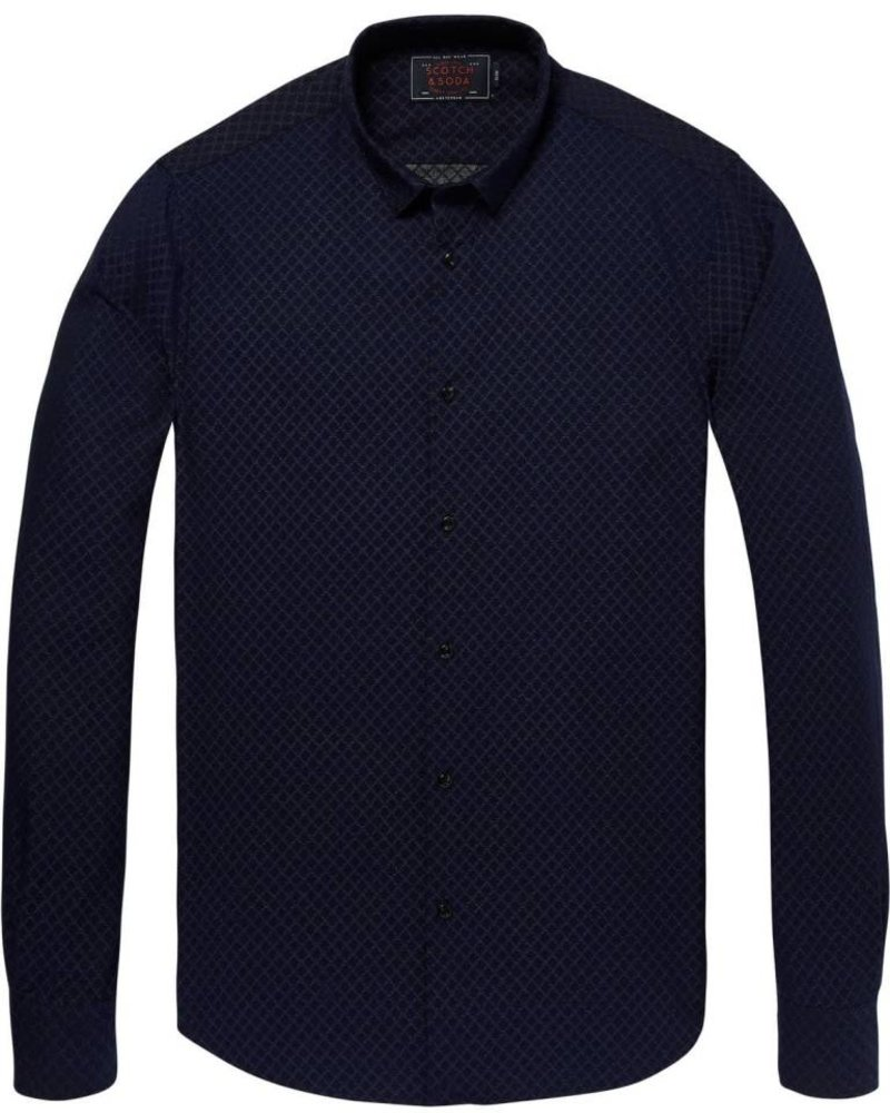 Scotch & Soda EMBLEM SLIM SHIRT