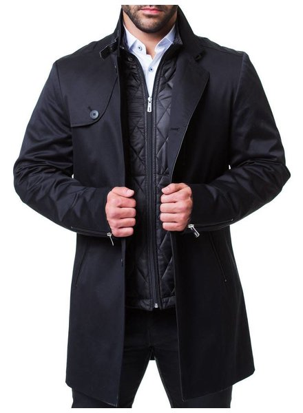 MACEOO DOUBLE DUTY PEACOAT