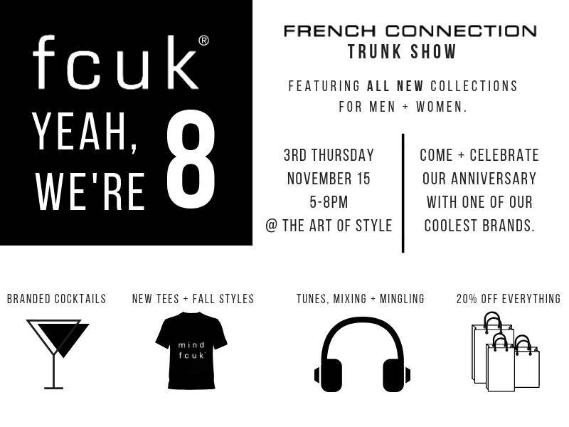 DISCOVER - FCUK YEAH - WE'RE 8! - The Art of Style | A