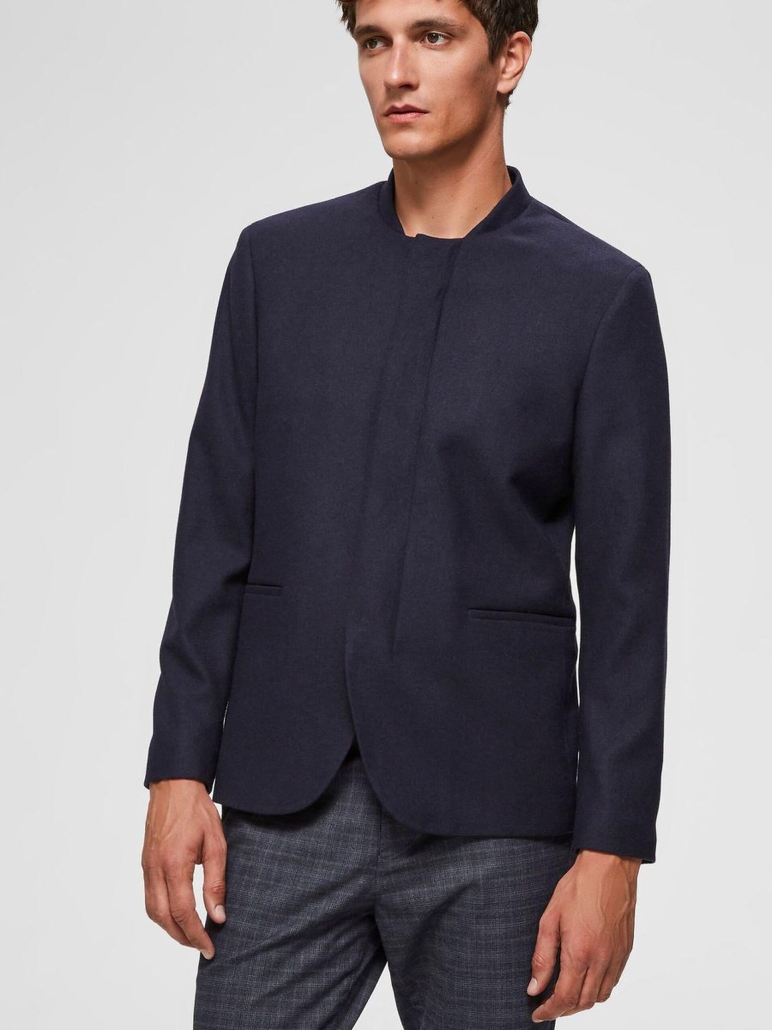 consegna gratuita carino e colorato prodotto caldo Selected Homme SLIM MILLS BLAZER Navy | The Art of Style - The Art ...