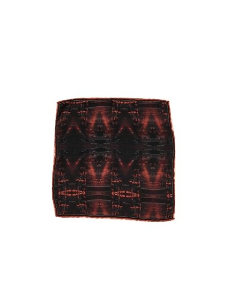 MACEOO FIRE POCKET SQUARE