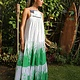 Rumi Murakami Eden Bib Dress with Grass and Sprouts