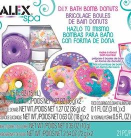 Fabrique de boules de bain beignets