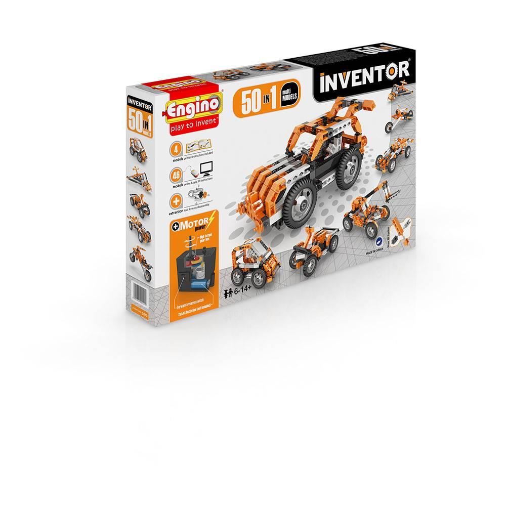 Engino Inventor 50 Modèles Motorisé - Modèles multiples