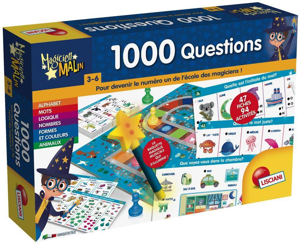 1000 questions en français