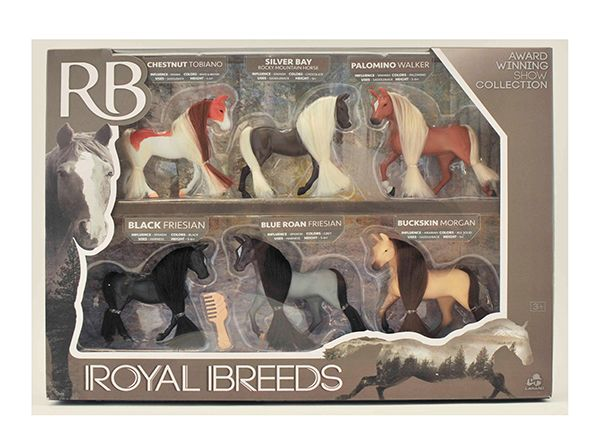 Royals Breeds Collection Chevaux 7.5 cm