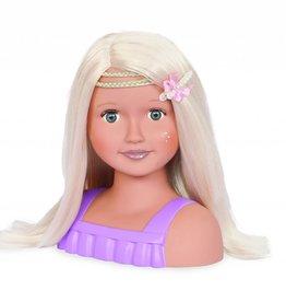 Tête à coiffer Trista