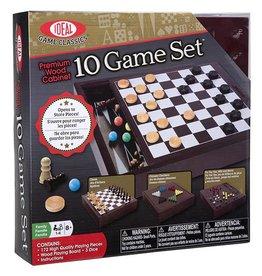 Ideal Boite de bois 10 jeux