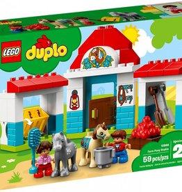 Lego Duplo L'écurie des Poneys de la ferme