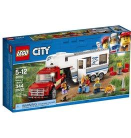 Lego Lego City Camionnette et Caravane