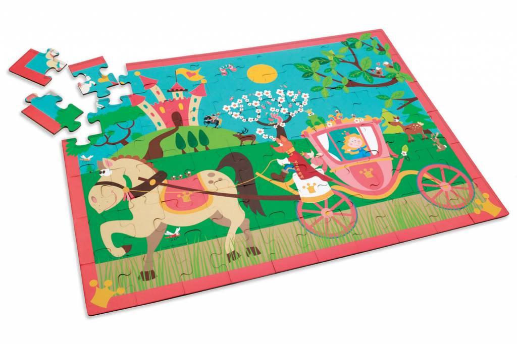 Scratch Casse-tête Carrosse de Princesse 60 pièces