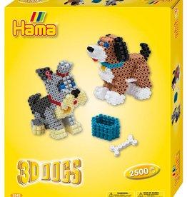 Hama - Boîte cadeau chien 3D