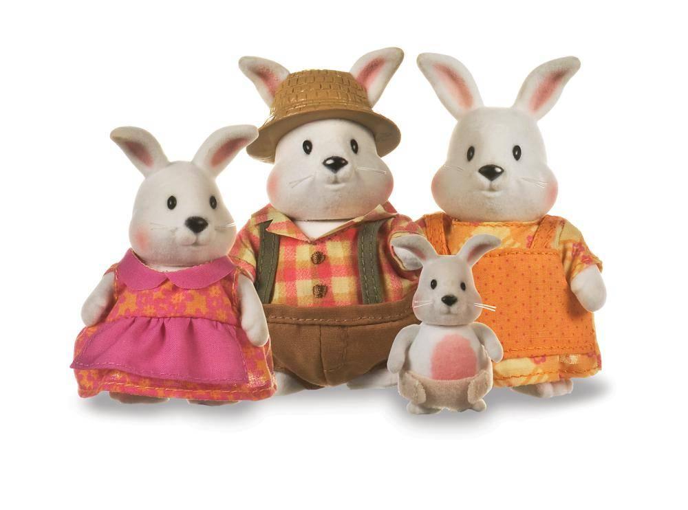 Li'l Woodzeez Li'l Woodzeez Famille de lapins