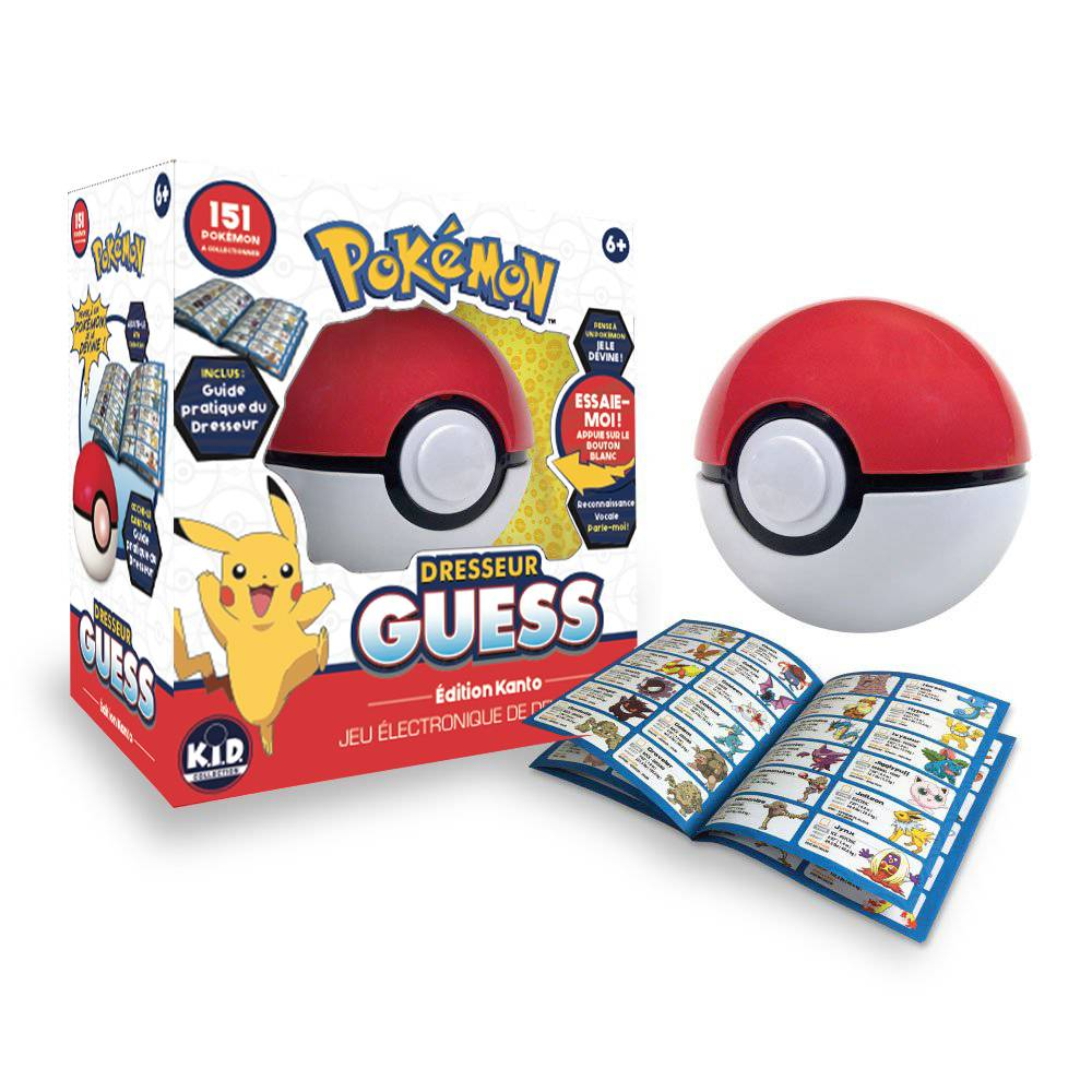 Zanzoon Jeu Pokemon Dresseur guess