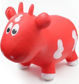 Farm Hoppers Animal sauteur - Vache rouge