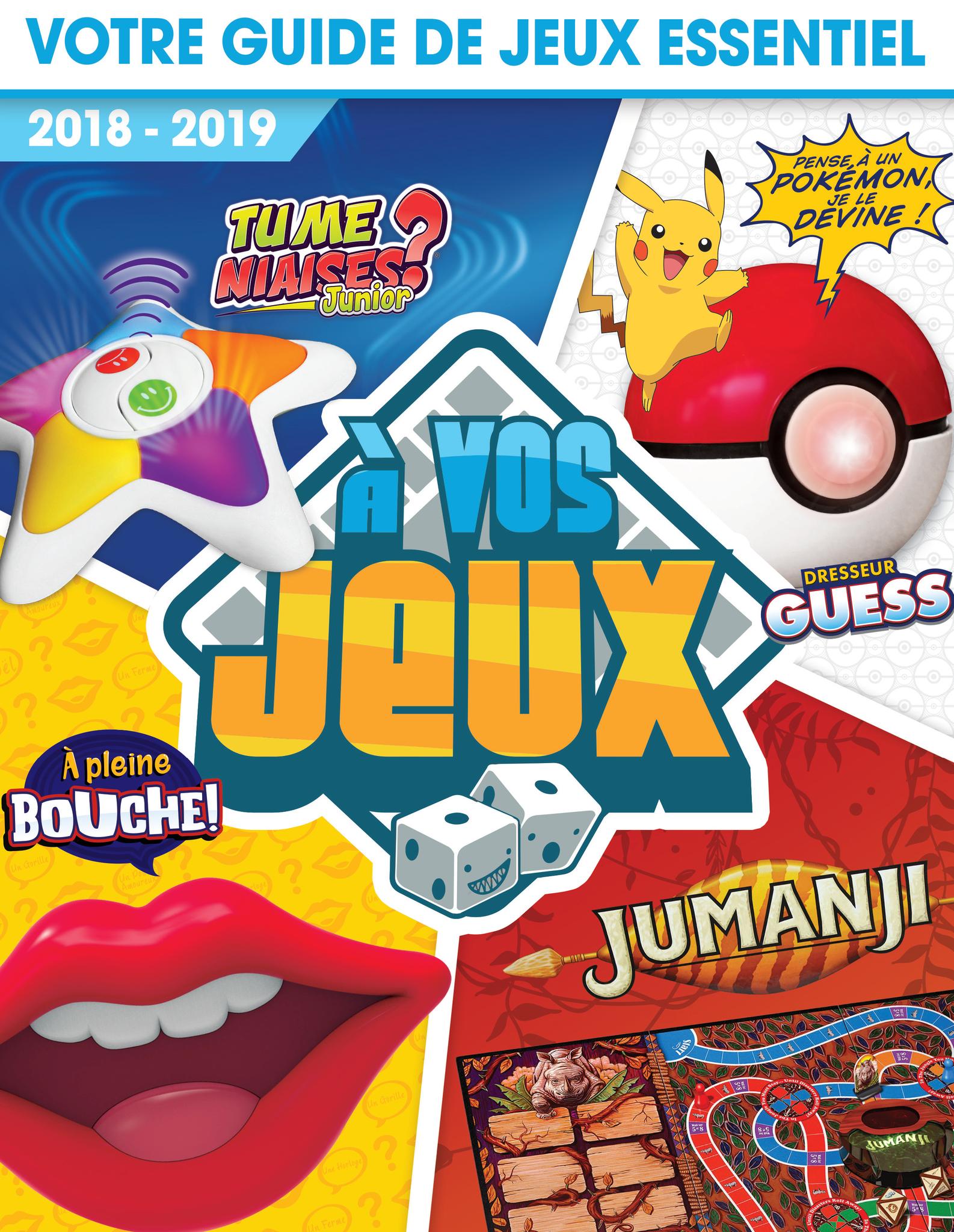 Catalogue À vos jeux