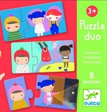 Djeco Puzzle Duo émotions