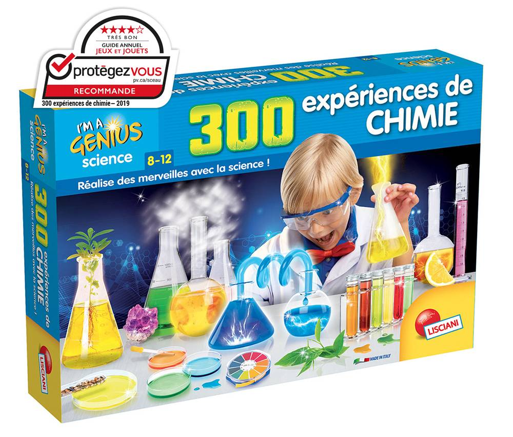 Petit génie - 300 expériences de chimie