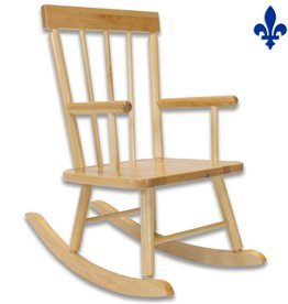 JB Poitras Chaise berçante - bois naturel