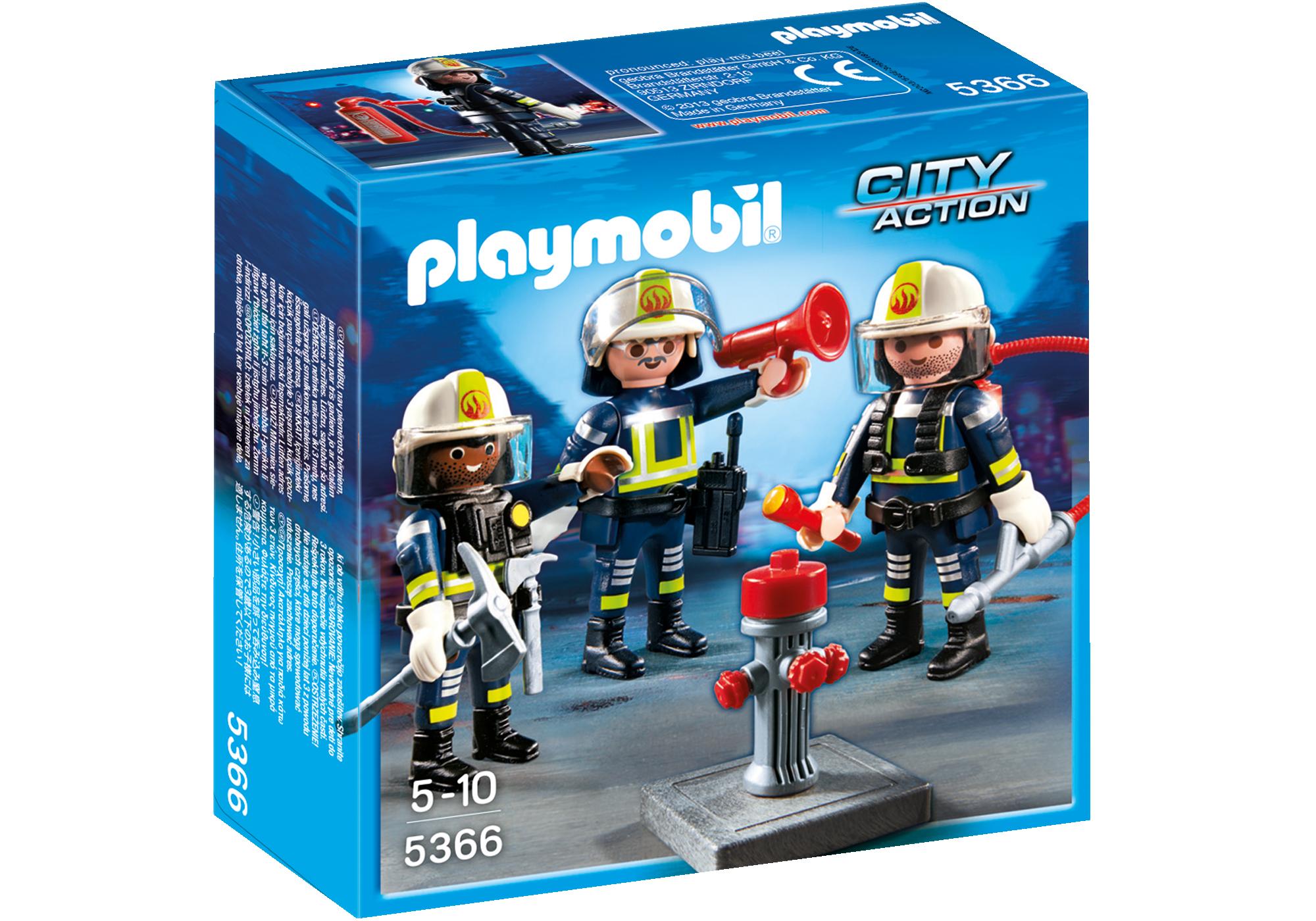 Playmobil Unité de pompiers