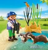 Playmobil Enfant avec loutres