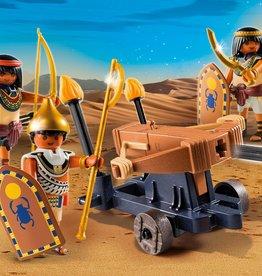 Playmobil Soldats du pharaon avec baliste