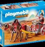 Playmobil Char romain avec tribun