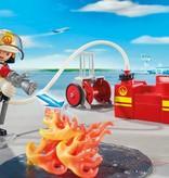 Playmobil Pompiers avec matériel d'incendie