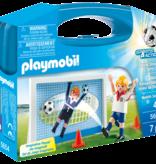 Playmobil Soccer Shootout Carry Case