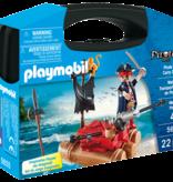 Playmobil Pirate Raft Carry Case