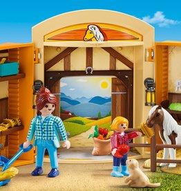 Playmobil Play Box - Horses