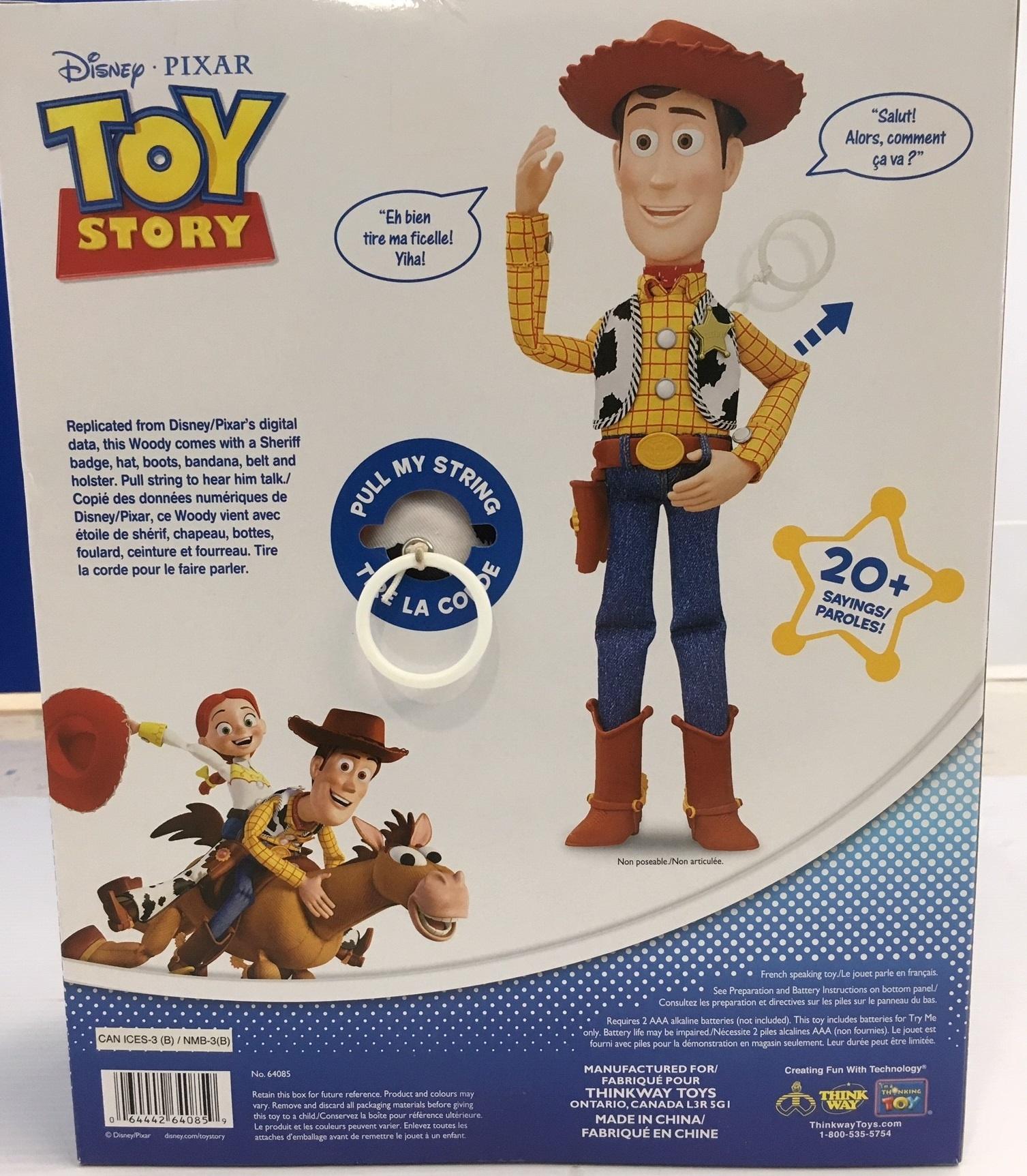 "Woody 12"" parlant Français"