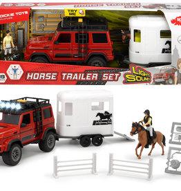 Dickie toys Ensemble remorque à cheval
