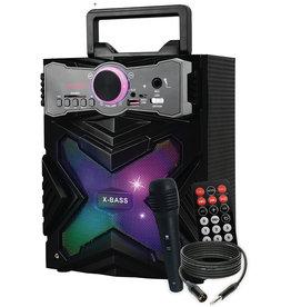 x-bass Karaoké haut-parleur