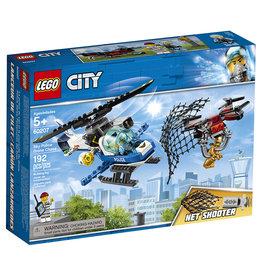 City Police du ciel et la poursuite du drône