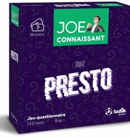 Joe connaissant Joe connaissant Presto
