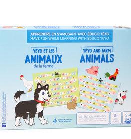 Jeux Éduco Yéyo et les animaux de la ferme