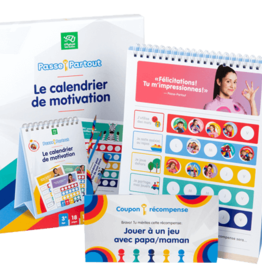Passe-Partout Le calendrier de motivation
