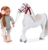Our Generation Cheval OG - Clydesdale 50 cm pour poupée OG de 46 cm