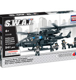BricTek Hélicoptère Swat à 2 rotors BricTek