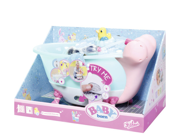BABY born - Bain interactif