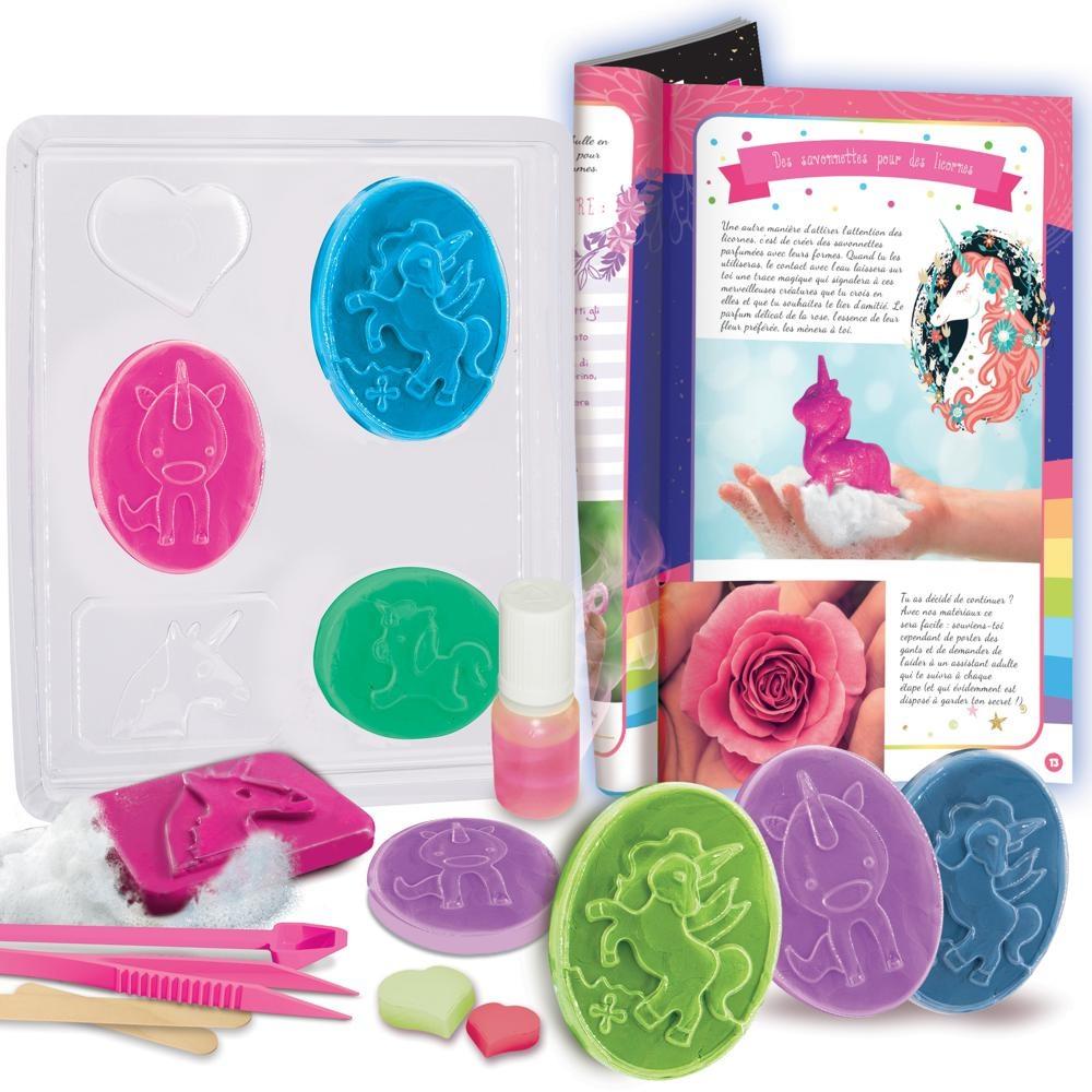 Crée le savon magique des licornes