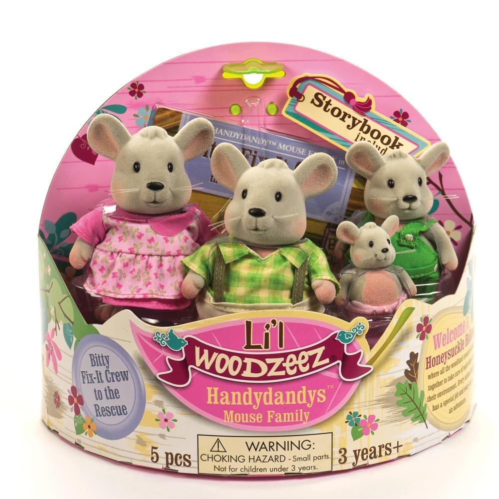 Li'l Woodzeez Li'l Woodzeez Famille de souris