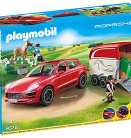Playmobil Porsche - Macan GTS avec remorque