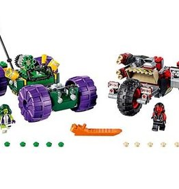 Lego Hulk contre Hulk Rouge