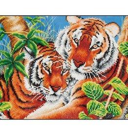 Diamond Dotz Diamond Dotz Tigres Amoureux