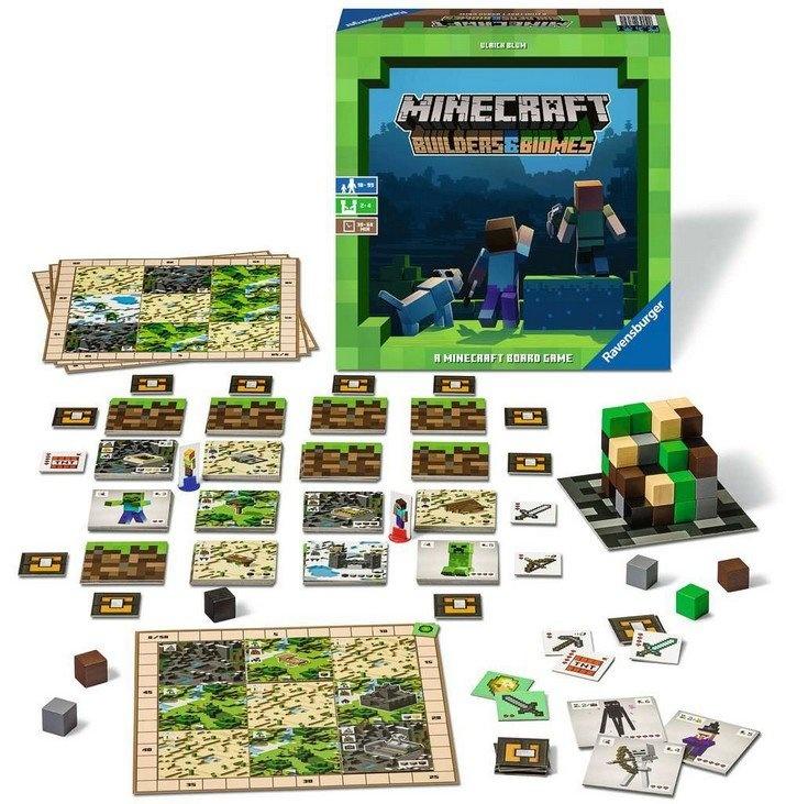 Ravensburger Minecraft - Le jeu de société