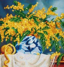 Diamond Dotz Diamond Dotz - Fleurs jaunes en pot