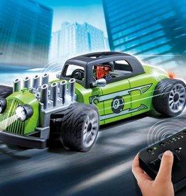 Playmobil Voiture de course verte télécommandée