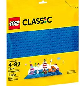 Lego Plaque de base bleu